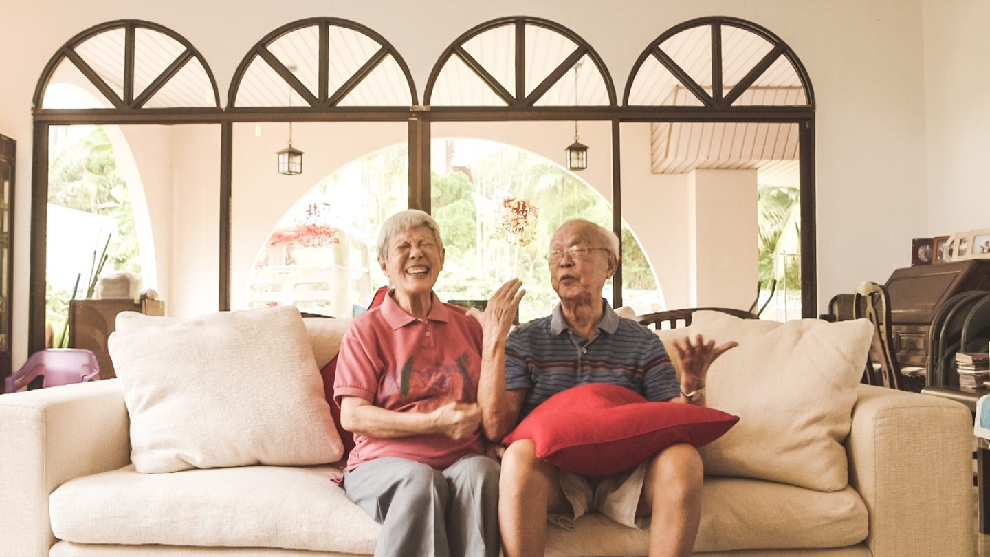 Mr and Mrs Yong have enjoyed 52 years of marriage.
